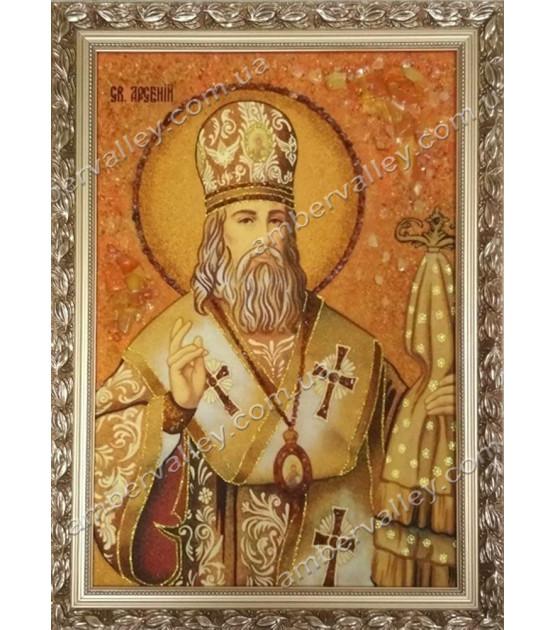 Икона Арсений Святой митрополит