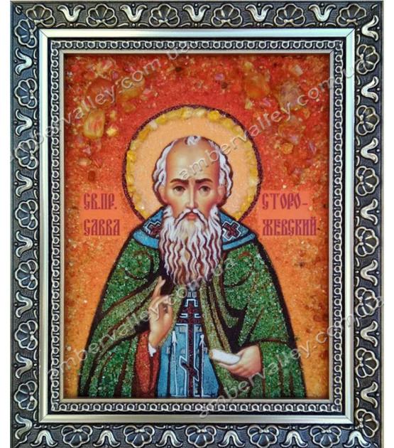 Икона Савва Сторожевский Преподобный