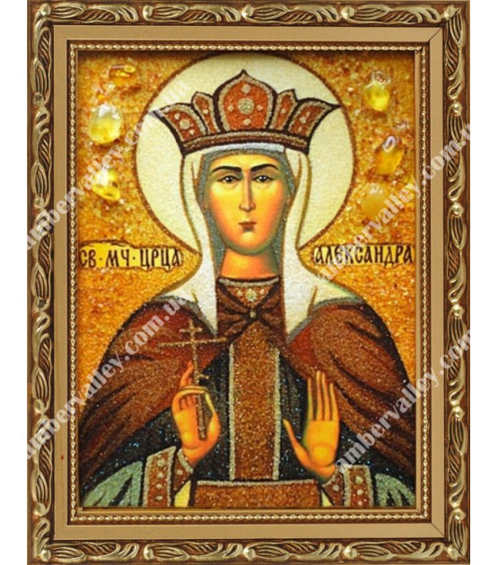 Икона Мученица Алекса́ндра Римская