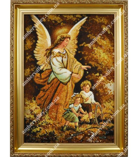 Ангел с детьми
