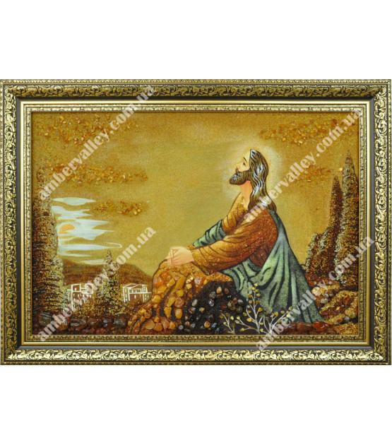 Икона Иисус на Оливковой горе
