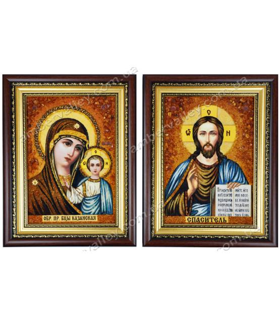 Казанская венчальная пара икон
