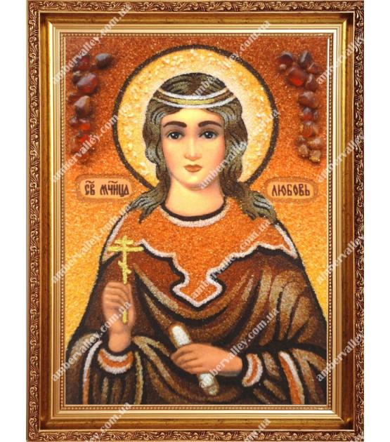Икона Любовь святая мученица