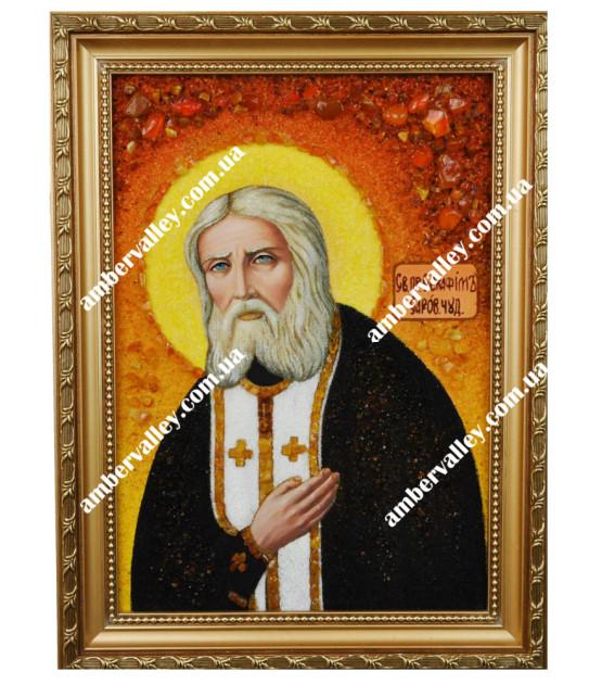 Икона Серафим Преподобный