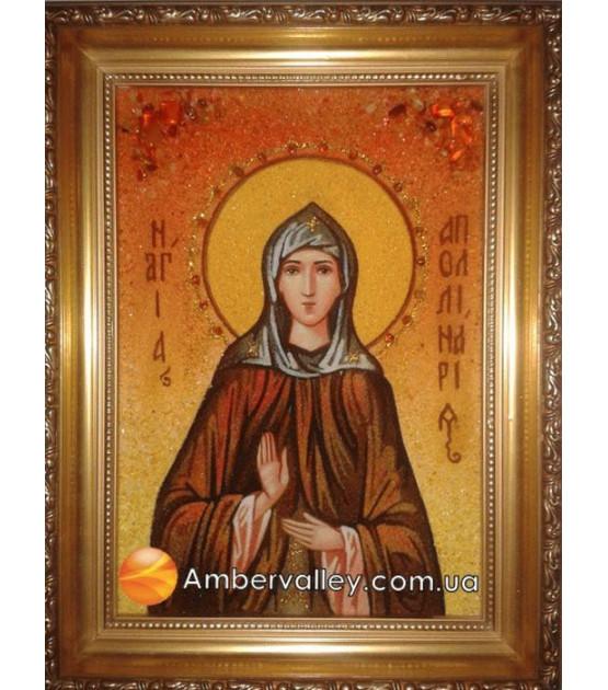 Икона Аполлинария Преподобная