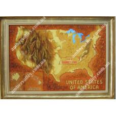 Карта США П151
