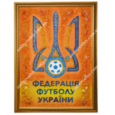 Логотип из янтаря