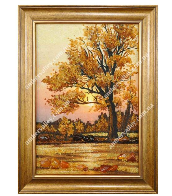 Осенний дуб