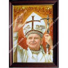 Папа Римский на холсте