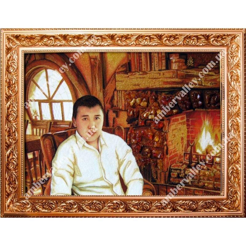 Картина из янтаря - красота и благополучие в дом