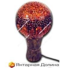 Лампа из янтаря