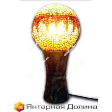 Янтарная лампа