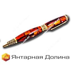Янтарная ручка P009