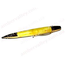 Ручка из янтаря P002