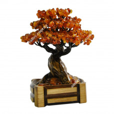 Дерево из янтаря (Бонсаи)
